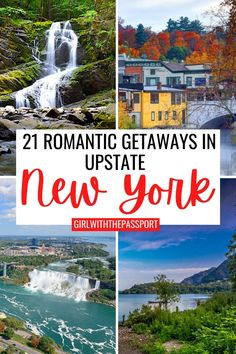 Romantic weekend getaways in New York | Romantic weekend getaways in Upstate New York | Scenic drives in New York | New York Road Trips | New York State Travel | Best places to visit in New York | New York Itinerary | Top destinations in New York | Cute towns in New York | Asirondacks | Upstate New York travel tips | Upstate New York Travel Guide | things to do in Upstate New York | Best Places to Visit in Upstate New York Travel Usa, Travel Tips, New York City Attractions, New York City Travel, Travel Reviews, Romantic Getaways, United States Travel, Travel Couple, Cool Places To Visit