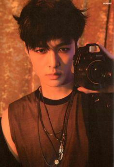 #EXO #EXO_LOTTO #LAY Lotto Photobook