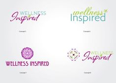 My wellness inspired Logo Ideas