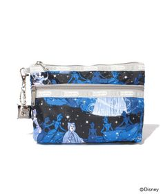 Cinderella LeSportsac cosmetic clutch with charm