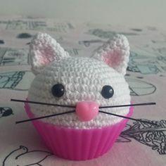 Gato cupcake #amigur