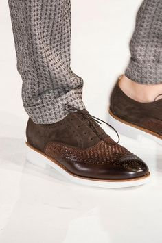 Dressed for success in Giorgio Armani Men's Details S/S '15.  Sign up if you're a shoe lover and want ShoeDrop.com to help care for your #shoes.