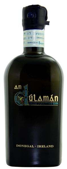 The Sliabh Liag Distillery in Donegal have added the new An Dulaman Irish Maritime Seaweed Gin to their ever-increasing selection of micro distilled products. Vodka Drinks, Bar Drinks, Cocktails For Beginners, Gins Of The World, Premium Gin, Gin Distillery, Bottle Images, Gin Bottles, Gula