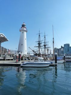 beachcomber lighthouse darling harbour sydney australia I love lighthouses Sydney Australia, Australia Travel, Visit Sydney, Darling Harbour, Commonwealth, Lighthouse, Road Trip, Scenery, Places To Visit