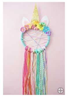 DIY Unicorn Necklace Kids Craft with Free Printable Labels - toyshare subscriptions Kids Crafts, Diy And Crafts, Craft Projects, Arts And Crafts, Diy Crafts With Ribbon, Crafts To Make And Sell Ideas, Craft Ideas, Diy Ideas, Baby Diy Projects