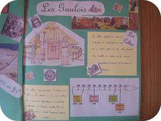 Lapbook : Les gaulois