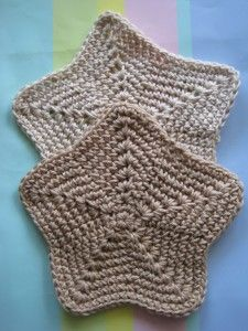 Crochet Spot » Blog Archive » Crochet Pattern: Star Washcloth in Two Sizes - Crochet Patterns, Tutorials and News
