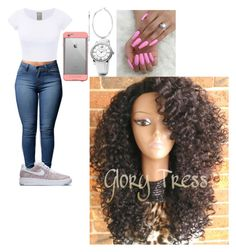 """""""Untitled #399"""" by queen-ayanna on Polyvore featuring NIKE, LifeProof, Roberto Coin and David Yurman"""