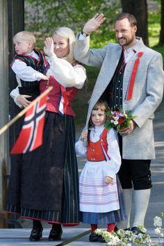 princesse Ingrid Alexandra, le prince Sverre