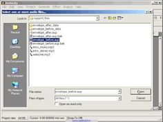 Audacity is a free sound editing software that I use to make videos for my lessons.