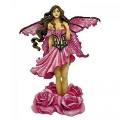Daphne Fairy Figurine Limited Edition by Amy Brown Amy Brown Fairies, Fairy Figurines, Fairy Art, Lace Design, Pink Roses, Fantasy Art, Aurora Sleeping Beauty, Fashion Dresses, Fashion Show Dresses