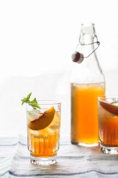 peach iced tea {Jelly Toast}   Emily Caruso