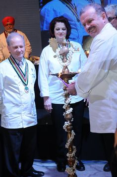 The 3 day 6th IFCA International Chefs Conference 2015 was a grand success. On 20th of March the chefs conference was inaugurated on an auspicious note. Lighting of the Lamp by Chef Ricky Stephen, Chef Cornelia Volino, Chef John Clancy, Chef Uwe Micheel, Chef Thomas Gugler, Dr. Chef Soundararajan! #chefs #cook #recipes #ITC #Chennai #foodart #chefsart #finedining #chefsmeet #conference #culinary #chefstalk #kitchen #professionals #restaurants #foodculture #foodfest