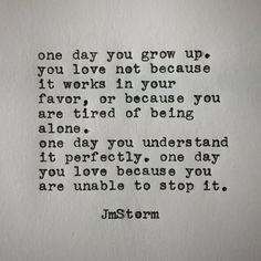 wisdom quotes about love Poem Quotes, Wisdom Quotes, True Quotes, Words Quotes, Wise Words, Quotes To Live By, Sayings, Jm Storm Quotes, Most Beautiful Words