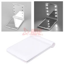 Makeup Cosmetic Folding Portable Compact Pocket Mirror with 8 LED Lights Lamps. eBay. Battery Operated ...