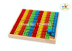 Product name: 10 * 10 multiplication tables Product size: 19 * * 2.3 CM Paint: environmental protection paint Product introduction: educational toys, mathematics multiplication toys. Can improve the child's hands and feet coordination ability, creative ability, and improve the ability of the child's imagination. Payment: There are many payment methods available on aliexpress.com, such as ...