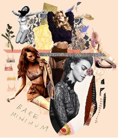 Fashion Moodboard - lingerie