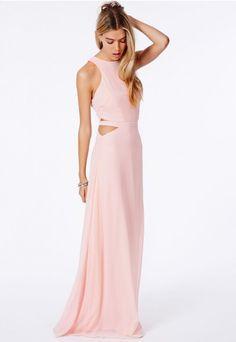 Anthea Cut Out Split Maxi Dress - Dresses - Maxi Dresses - Missguided $79.98 AUD