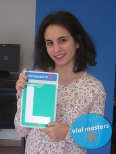 Mª Ángeles es una nueva conductora de Autoescuelas Vial Masters. ¡Felicidades!