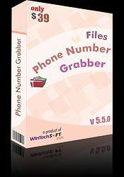 Files Phone number Grabber is a remarkable phone number extractor tool adept at extracting phone numbers in bulk from different types of Word, Excel, PowerPoint, PDF or Publisher files. User can add large number of files at one go. There is no restriction on type of files and user can add files like DOC, RTF, DOCX, DOCM, TXT, INI, LOG, PPT, PPTM, PPTX, XLS, XLSX, XLSM etc. at one go. User has the liberty to add files directly by selecting them or by using 'Add