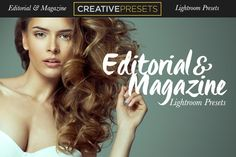 Editorial-Magazine Lightroom Presets by CreativePresets.com on Creative Market