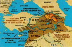 96 Best Historical Maps of Armenia images