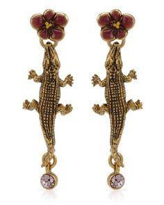 Pilgrim Skanderborg Crocodile Earrings - $11.95