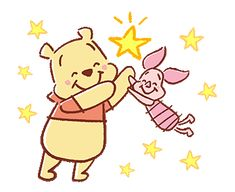 LINE Official Stickers - Pooh and Piglet (Lovely) Example with GIF Animation Winnie The Pooh Gif, Winnie The Pooh Drawing, Winnie The Pooh Pictures, Mickey Mouse Wallpaper, Disney Phone Wallpaper, Cute Disney Drawings, Cute Drawings, Bear Gif, Cute Memes