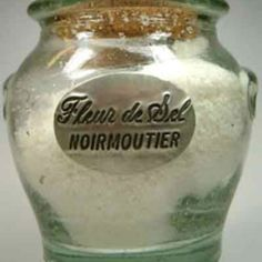 Noirmoutier Fleur De Sel...one of the best finishing salts, harvested by hand, Guerande, Normandy