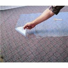 Mohawk Home Products 5310016 Vinyl Carpet Protector by Mohawk Home Products. $7.99. Clear vinyl carpet runner with grippers designed for maximum staying power. Runner lays flat on all types of carpet. Vinyl carpet runners are produced utilizing 89% recycled plastics and plastic additives. 27'' wide.