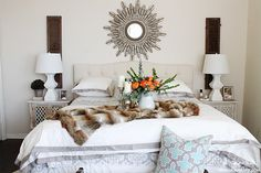 Rebekah shares a master bedroom refresh and some ideas to get a new room on a low budget. Get tips to make a dramatic change to your bedroom. Australian Country Houses, Nest, Master Bedroom, Bedrooms, Change, Tips, Shop, Furniture, Home Decor