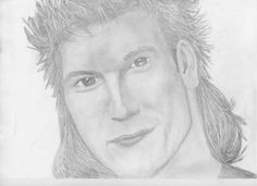 Patrick Swayze by carolehug on DeviantArt Bad Fan Art, Patrick Swayze, Cartoon Shows, Pencil Drawings, Celebrity, Deviantart, Fictional Characters, Drawings In Pencil, Celebs