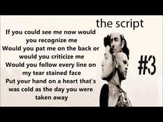 The Script - If you could see me now <3