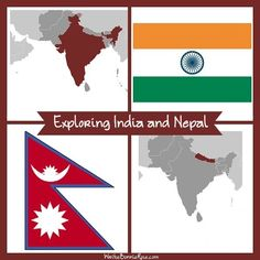 Teaching Kids About India and Nepal. If you're looking for engaging ways to teach your children about India and Nepal, check out this list of resources I'm sharing today.