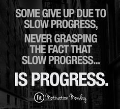 Fitness quotes inspiration - PROGRESS.