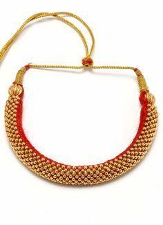 maharashtrian traditional jewellery thushi - Google Search