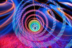 Fantastic Kaleidosopic Light Paintings Created in Camera - My Modern Met #lightpaint