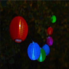 Solar string lights.
