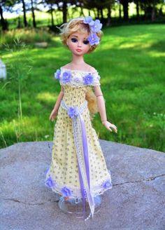 "Ellowyne ""Dreaming I'm Rapunzel"" Dress by luminariadesigns via eBay, Bid $45.00 or BIN $58.50, SOLD 6/30/14 or bid of  $53.00"