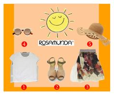 """""""summer"""" by theberrywave ❤ liked on Polyvore featuring Rosamunda and Illesteva"""
