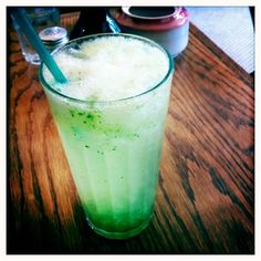 Cucumber House Made Soda at  hutch & spoon