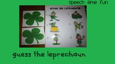 Speech Time Fun: Guess The Leprechaun