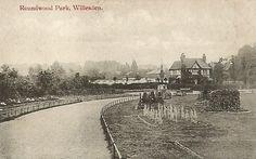 Old Postcard - Roundwood Park  Willesden