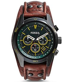 Fossil Coachman Watch at Buckle.com