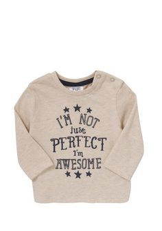 !!! i'm not perfect but i'm awesome!! :D:D: !!!! F&F Awesome Long Sleeve T-Shirt