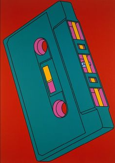 Michael Craig-Martin  Cassette, 2002