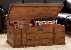 Looking for old antique trunk for storage coffee table for living room to store ledgers play toys! Description from foter.com. I searched for this on bing.com/images