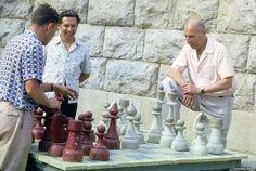 Large chess, U.S.S.R., 1963
