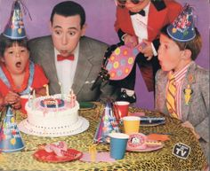 """Pee Wee's Playhouse"" (1986-1991) Paul Reubens as Pee Wee Herman"