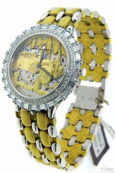 Limited Edition Audemars Piguet Rolls Royce C72025 Gold & Platinum Diamond Watch